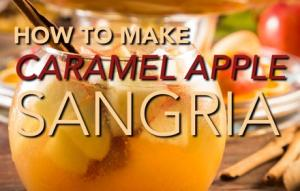 How To Make Caramel Apple Sangria 1018910 By Thefoodchannel