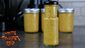 Yellow Hot Sauce Mustard Based Hot Sauce 1018817 By Whitethunderbbq
