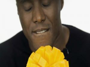 Man Holding Mango