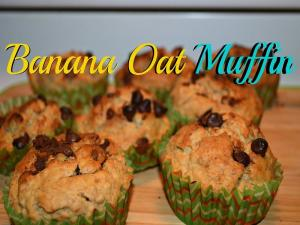 Banana Oat Muffin