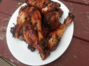 Jamaican Jerk Chicken Legs Easy Jerk Chicken Recipe On The Weber Grill