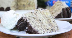 Homemade Cookies N Cream Cake W Oreo Buttercream Frosting 1016765 By Divascancook