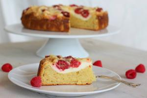 Breakfast Recipe Raspberry Cream Cheese Coffee Cake 1015044 By C 4 Bimbos