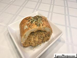 Taco Stuffed French Bread Baguette