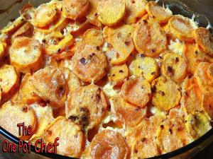 Savory Sweet Potato Gratin