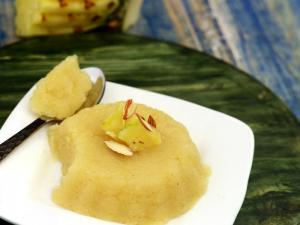 Pineapple Sheera By Tarla Dalal