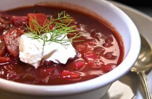 Borscht Russian Soup