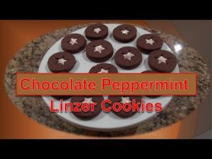 Chocolate Peppermint Linzer Cookie 1015108 By Bettyskitchenfare