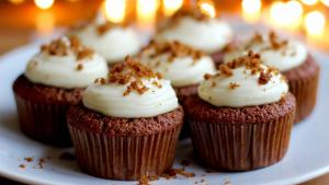 Fresh Gingerbread Cupcakes