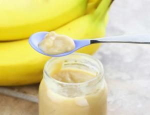 Banana Baby Food