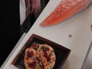 Tropic Fish Pizza