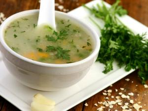 Garlic Vegetable Soup Healthy Heart By Tarla Dalal