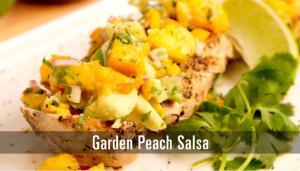 Garden Peach Salsa