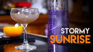 The Stormy Sunrise Viniq Shimmery Liqueur 1016340 By Commonmancocktails