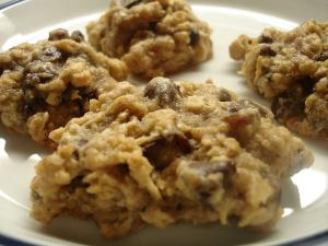 Chocolate Chip Oatmeal Cookie