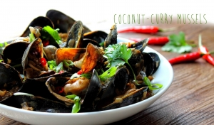 Coconut Curry Mussels Stevescooking
