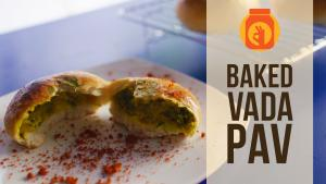 Baked Vada Pav Stuffed Buns Monsoon Special Heathy Tasty 1016874 By Beingindiansawesomesauce