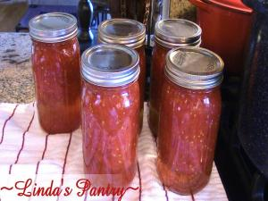 Home Canned Crushed Tomatoes With Lindas Pantry