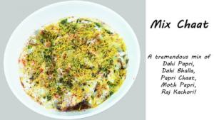 Mixed Chaat
