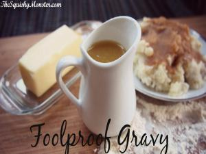 Thanksgiving Foolproof Easy Basic Gravy