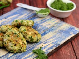 Mixed Sprouts And Chana Dal Tikki Protein Rich Recipe By Tarla Dalal