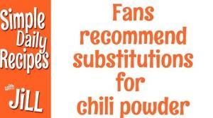 Chili Substitute