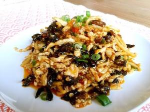 The Greatest Spicy Chicken Recipe Yu Xiang Rou Si 1016146 By Cicisfoodparadise