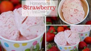 How To Make Homemade Strawberry Ice Cream 1018119 By Divascancook