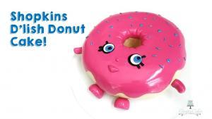 Dlish Donut Cake