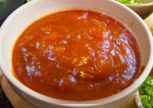 Apricot Barbecue Sauce