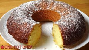 Vanilla Sour Cream Cake 1016316 By Onepotchefshow