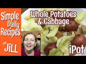 Whole Red Potatoes Cabbage In The Instant Pot 1017055 By Simpledailyrecipes