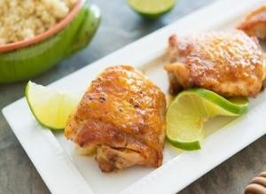 Sticky Honey Lime Chicken Recipe