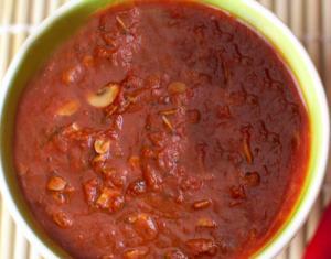 Spaghetti Mushroom Sauce