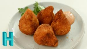 How To Make Coxinha Brazilian Chicken Croquettes 1017288 By Hilahcooking