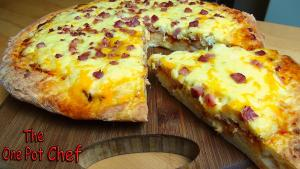 Aussie Bacon And Egg Pizza One Pot Chef