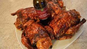 How To Roast Napa Valley Bordeaux Cherry Balsamic Rock Cornish Hens 1019579 By Cookingwithkimberly