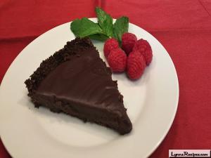 Chocolate Honey Almond Tart