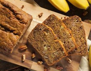 Healthier Banana Bread