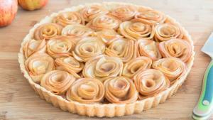 Caramel Apple Rose Tart 1018541 By Fifteenspatulas