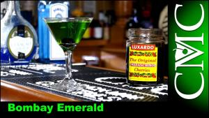 The Bombay Emerald With Bombay Sapphire Gin