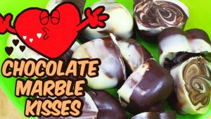 Chocolate Marble Kisses