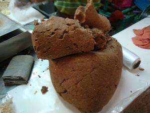 Gingerbread Village Dough