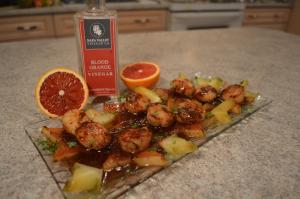 How To Cook Pan Seared Scallops With Blood Orange Starfruit Beurre Rouge Sauce Wckwk 1016821 By Cookingwithkimberly