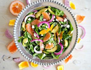 Salad Recipe Spinach And Citrus Salad 1017681 By C 4 Bimbos