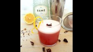 Cocktail Recipe Hibiscus Gin Sour 1019964 By C 4 Bimbos