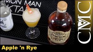 The Apple N Rye Cocktail