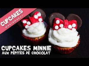 Cupcakes Minnie Aux Ppites De Chocolat 1019041 By Cupcakesmaniamaker
