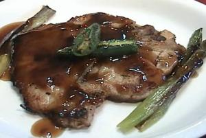 Fried Pork Chop With Oyster Sauce
