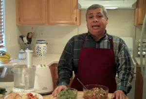 Black Eyed Peas Salad and Collard Greens Dip